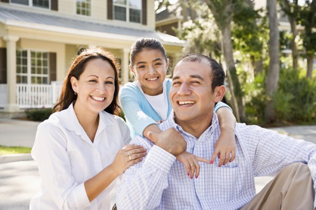 residential solar power family