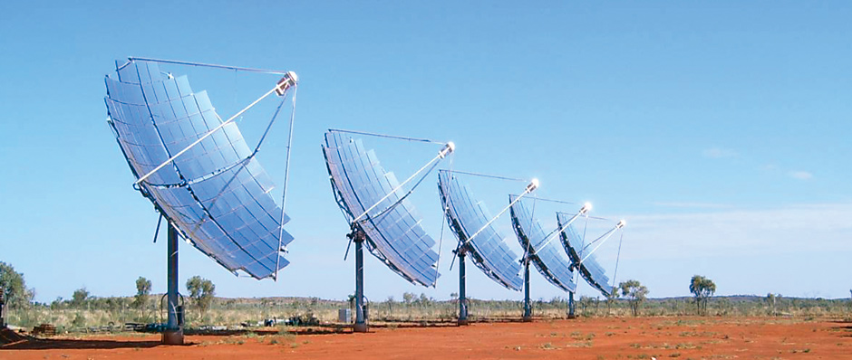 Concentrated Solar Power (CSP)