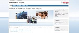 BOSCH German solar panels