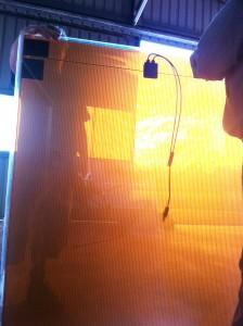 thin film solar panel glass