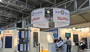 sopray energy at show in Germany