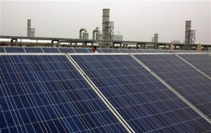 yingli solar panels in action