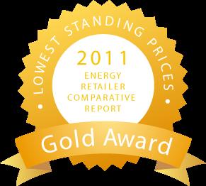 Click Energy Gold Award 2011