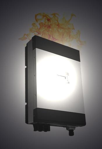worst solar inverters on fire