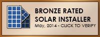 Bronze Solar Installer Certification