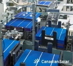 Canadian solar cells