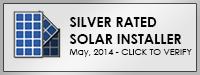 Silver Solar Installer Certification