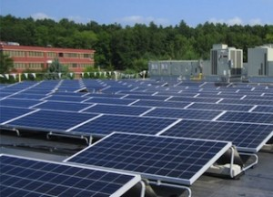 Commercial solar power services