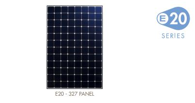 SUNPOWER solar panels e20 series