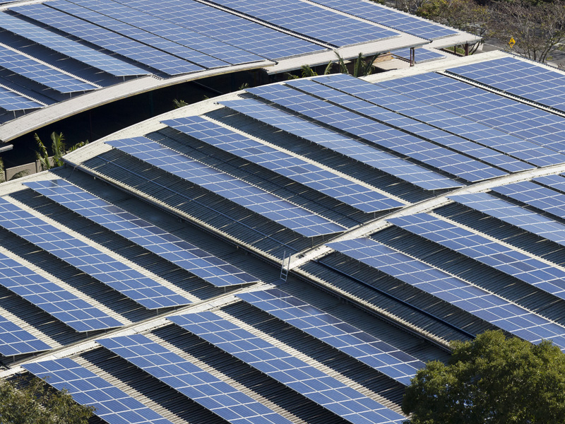 Large Scale Solar Power