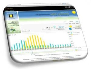 solar panel monitoring portal