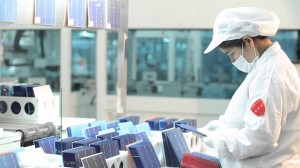 jinko solar panels factory