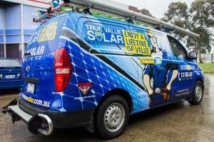 True Value Solar review vehicle