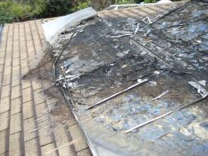 solar choice burnt solar panels