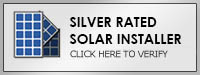 solar installers silver rating Solar Proof