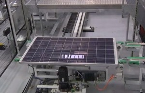BP solar panels factory