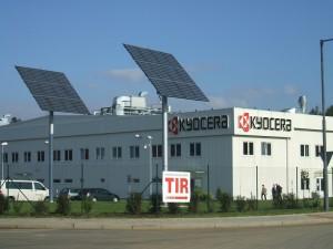 Kyocera solar panels review - factory