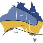 Solar Panel Rebates Zones - Image Courtesy Apricus Australia