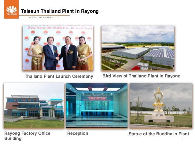 Talesun solar panels company
